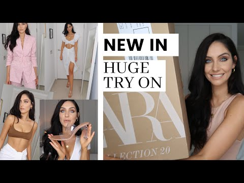 ZARA Spring Try On Haul - NEW IN For May 2020