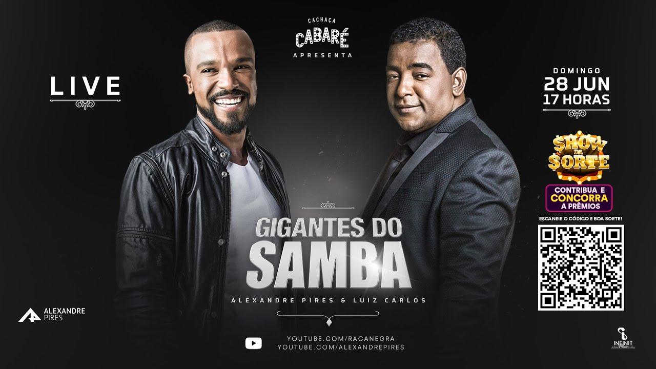Live Gigantes do Samba   Raça Negra e Alexandre Pires - #FiqueEmCasa com #GigantesDoSamba