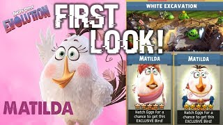 White Excavation Event First Look! | Angry Birds Evolution