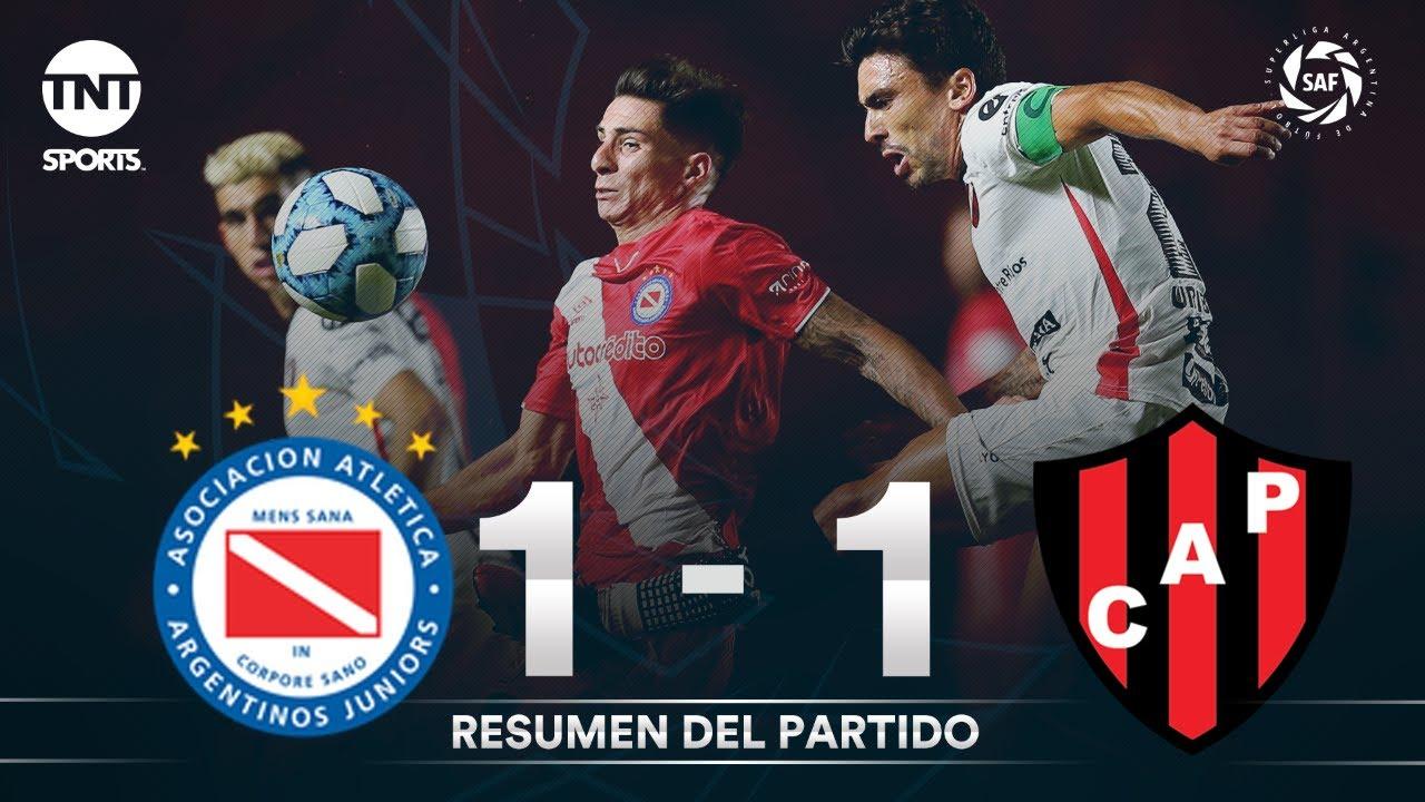 Resumen de Argentinos Juniors vs Patronato (1-1) | Fecha 21 - Superliga Argentina 2019/2020