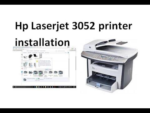 Hp Laserjet 3052 Printer Installation