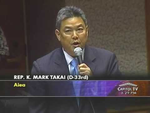Mark Takai Supports Marriage Equality -- Nov. 8, 2013.