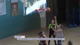 Yvelines | Basket : Les féminines du Chesnay-Versailles en démonstration