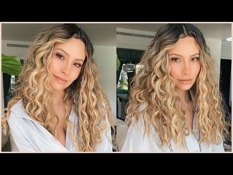 Easiest way to get natural looking curls
