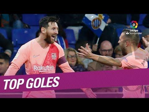 TOP 5 Goles Diciembre LaLiga Santander 2018/2019