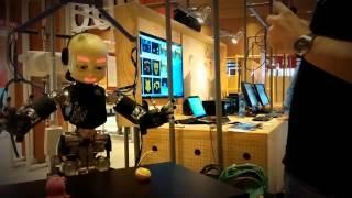 iCub by Istituto Italiano di Tecnologia at MFR14