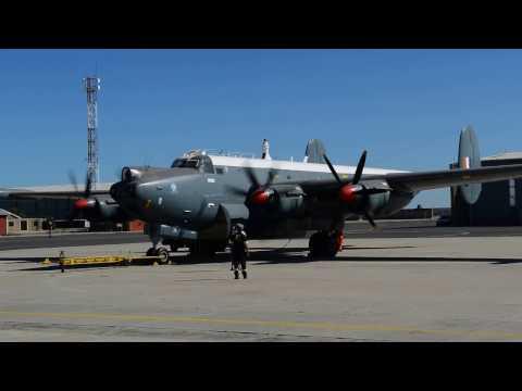 SAAF Museum Avro Shackleton MR.3 Engine 1 Start