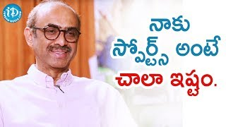 I Love Watching Sports - Producer Suresh Babu | Talking Movies With iDream | #VenkyMama