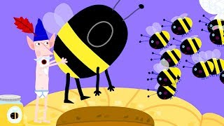 Ben and Holly's Little Kingdom | Wise Old Elf Becomes Honey Bees | Cartoon for Kids