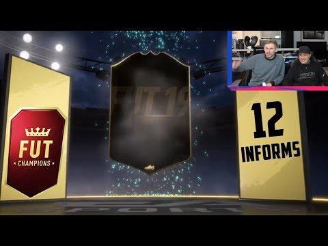 12 INFORMS ! FUT CHAMPIONS WEEKEND LEAGUE REWARDS - FIFA 19 Ultimate Team - FlaGGo