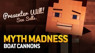 Minecraft Myth Madness: Super Golem, Ice Spiders, Boat Cannon, Sky Race? (Episode 7)