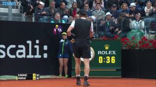 Murray Rips Backhand Hot Shot Rome 2016