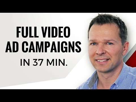 WATCH How I Create A FULL FB Video Ad Campaign In 37 Minutes Flat!