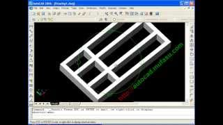 Autocad Tutorial 3d Book Self