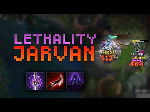 CRAZY BURST! FULL LETHALITY JARVAN DOUBLE DUNKS! - Troll Builds That Work #16