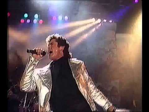 "David Hasselhoff  - ""Born To Be Wild"" live 1990"