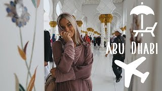 Ceļojums uz Abu Dabi | Vlog Part1