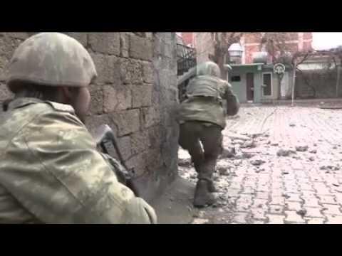 Şırnak/ Cizre'de operasyon anı