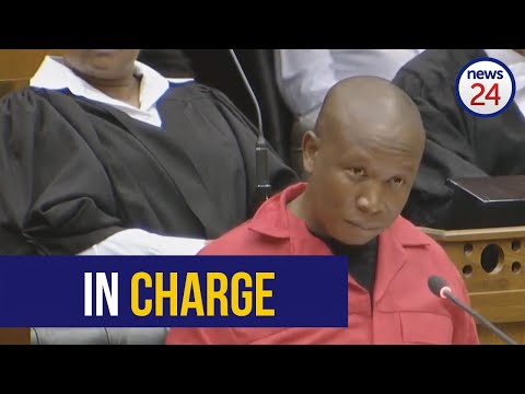 WATCH | 'I am in charge ... I have the ruling party by the scrotum' says Malema during SONA debate