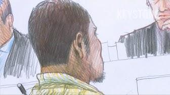 Welchen Eindruck macht Carlos vor Gericht? - Bezirksgericht Dietikon - Carlos - Gerichtszeichner