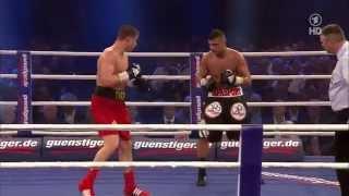 Tyron Zeuge vs Gheorghe Sabau (05.04.2014)