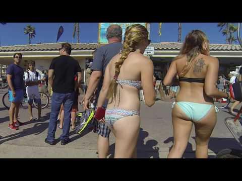 Huntington Beach 2016 Tour - Labor Day Weekend Crowds - GoPro 4K