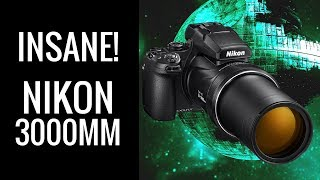 Nikon P1000 with INCREDIBLE 3000mm Zoom Lens (PLUS RAW & 4K Video)