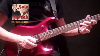 Avenged Sevenfold - Afterlife Guitar Solo LESSON - SoloAWeek 18 - Solo A Week 18