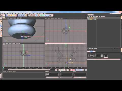 19 How to set accurate point position in Cinema 4D