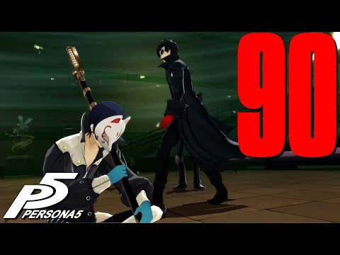 ★PERSONA 5★ HARD - Blind Playthrough Part 90 ★Going Down!★