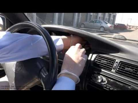 How to replace dashboard Toyota Corolla years 1995 to 2005