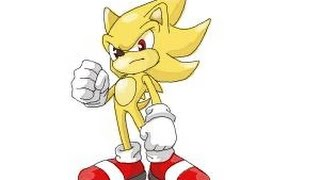 How to Draw Super Sonic