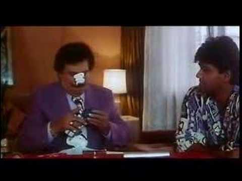 Suraksha clip II - Kadir Khan inspecting Sunil Shetty