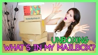 What's In My Mailbox?? Huge Unboxing!! Body Shop, Lush, L'oréal, Manhattan, Vichy & More!