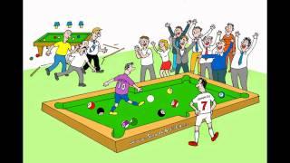 SnookerBall CR de dibujos animados
