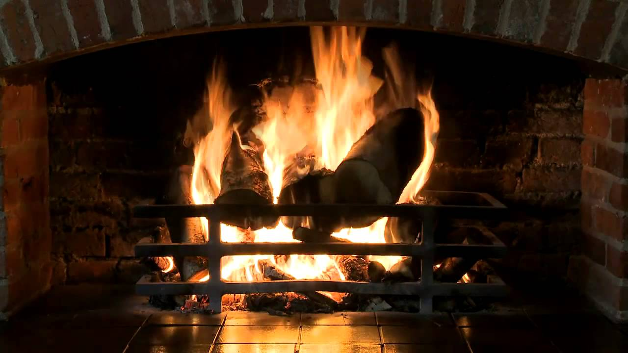 best fireplace in hd 1 hour burning logs with sound youtube