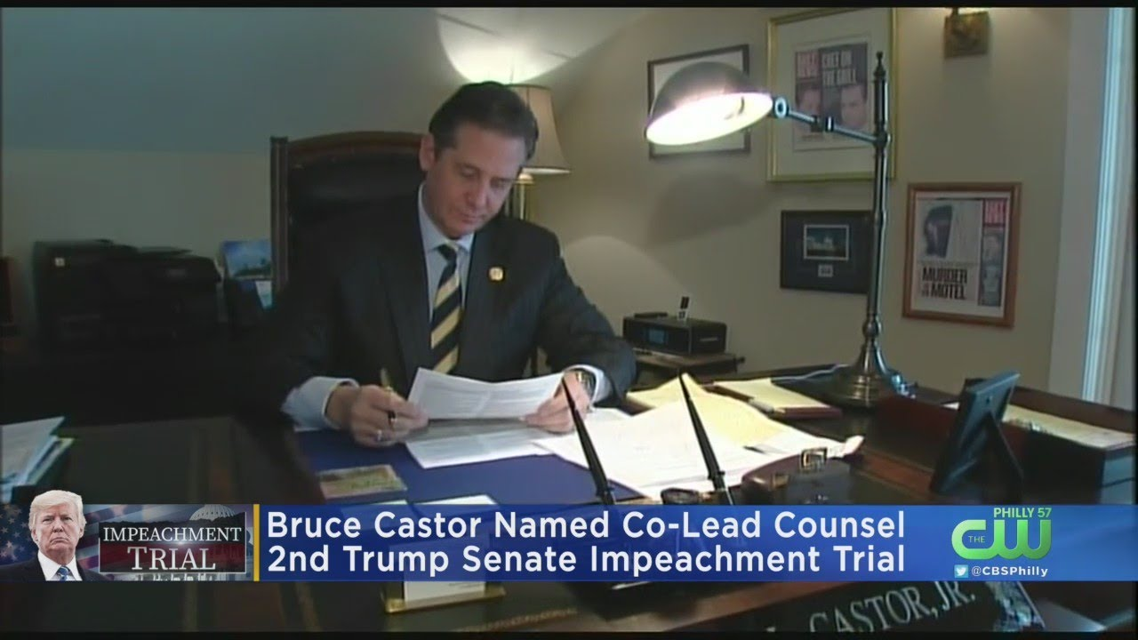 Trump's New Impeachment Team Is Ex-DA Bruce Castor, Alabama ...