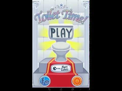 TOILET TIME - забавная игра