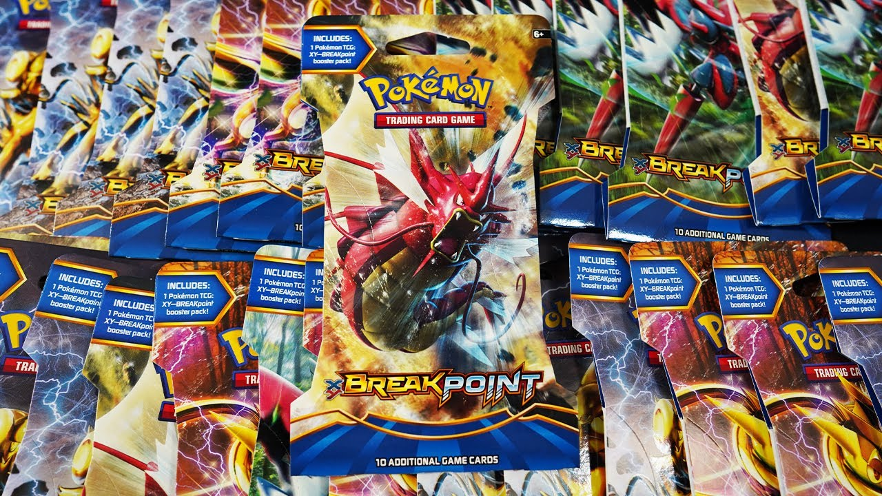 Opening 36x BREAKpoint Booster Packs