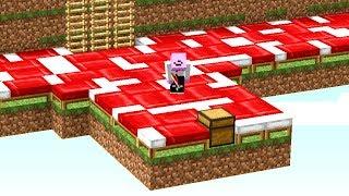 Er weiß nicht, welches Bett mir gehört😂👌💯.. Minecraft LUCKY BLOCK BEDWARS thumbnail