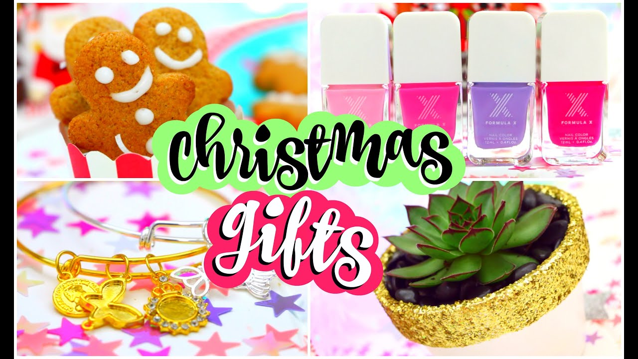 Easy Craft Ideas For Christmas Gifts Part - 39: DIY Christmas Gifts! Easy DIY Gift Ideas Everyone Will LOVE! - YouTube