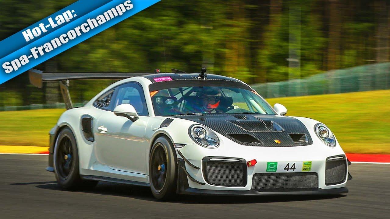 Brand New 2019 Porsche 911 GT2 RS Clubsport First Track Test // RSRSpa  Spotlight 09