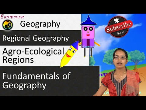 Agro-Ecological Regions of India: Fundamentals of Geography