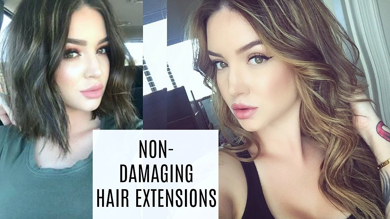 Best Hair Extensions For Finethin Hair Tape Ins Semi Permanent