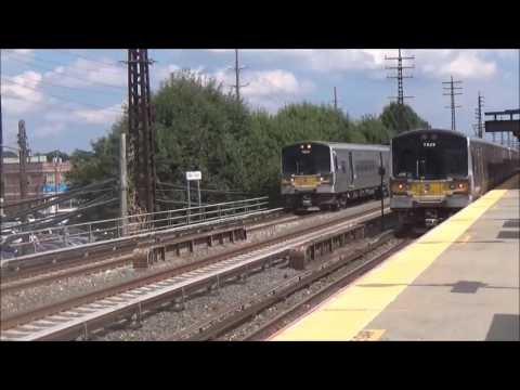 MTA Long Island Rail Road: Railfanning at Valley Stream Station (August 26, 2016)