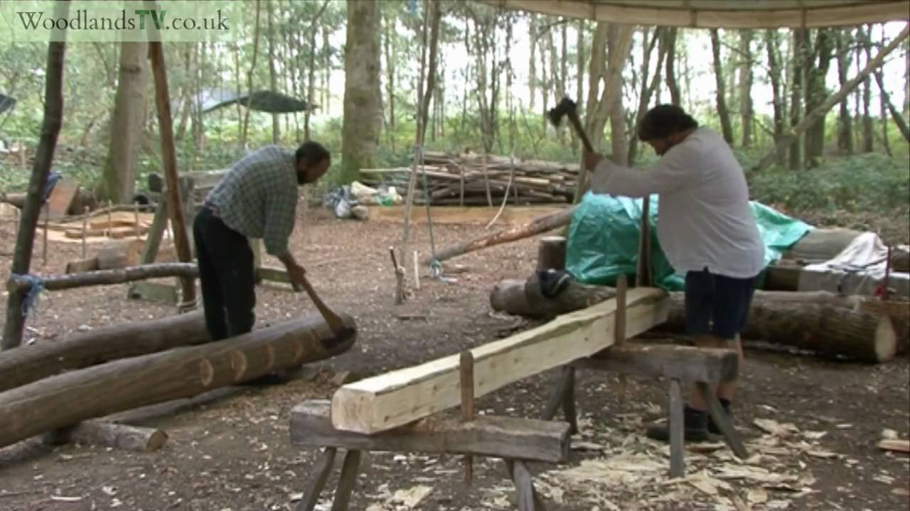 early medieval timber work youtube. Black Bedroom Furniture Sets. Home Design Ideas