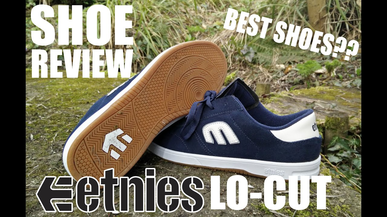 eeeaffb6d839 Etnies Lo-cut Review AND Skatetest - YouTube