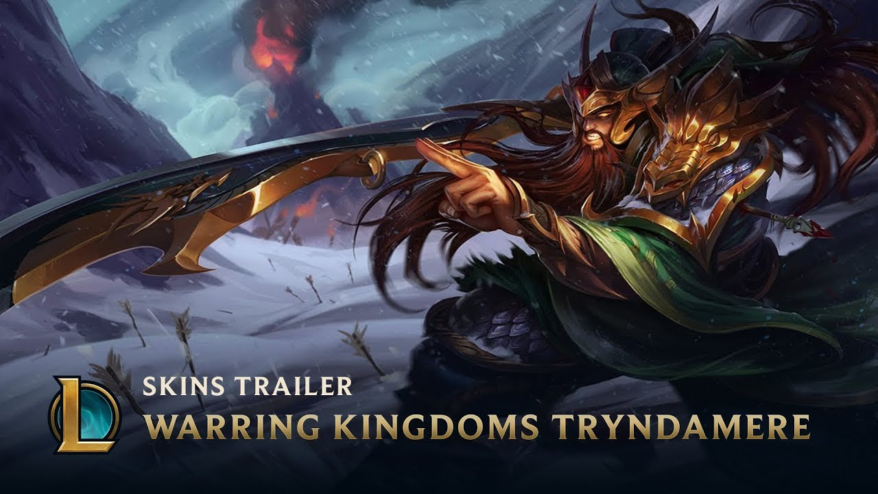 Warring Kingdoms Tryndamere | Skins Trailer - League of ...