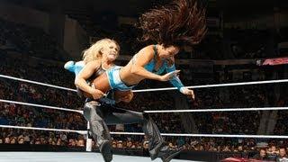 Layla Santino Marella Vs Beth Phoenix Ricardo Raw June