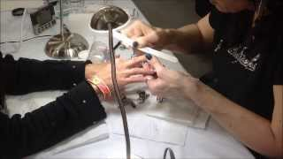World Record Fastest Set of Acrylic Nails with Amy Becker of Masterworks